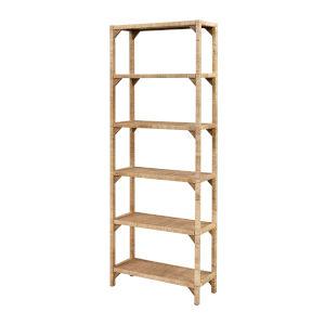 Fargesia Natural Wood Bookcase Shelf