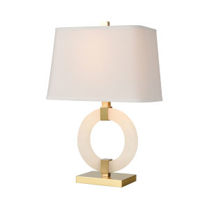 Envrion Honey Brass One-Light Table Lamp