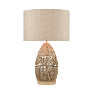 Husk Natural One-Light Table Lamp
