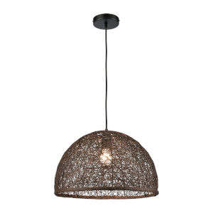 Casing Brown One-Light Pendant