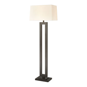 Stoic Antique Brown with Black One-Light Floor Lamp