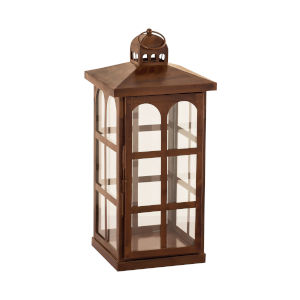 Lafayette Montana Rustic and Clear 19-Inch Candle Lantern