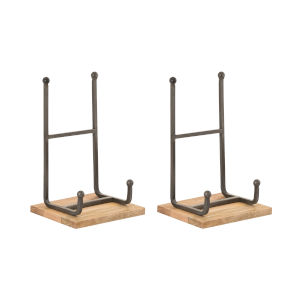 Traverse Natural and Mango 12-Inch Easel