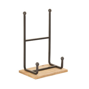 Traverse Natural and Mango 15-Inch Easel