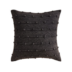 Charcoal Knots Charcoal 20-Inch 20 x 20 In. Pillow