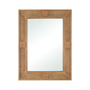 Cabana Natural 30-Inch Wall Mirror