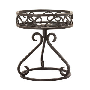 Brixton Rustic 12-Inch Plant Stand