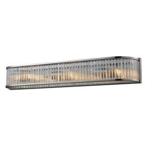 Braxton Polished Nickel Three-Light Bath Light
