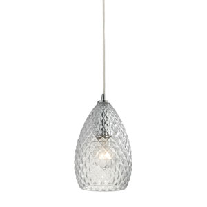 Geval Polished Chrome One-Light Mini Pendant