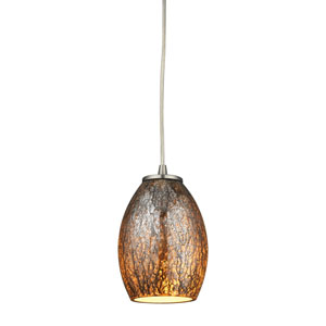 Venture Satin Nickel One-Light Mini Pendant