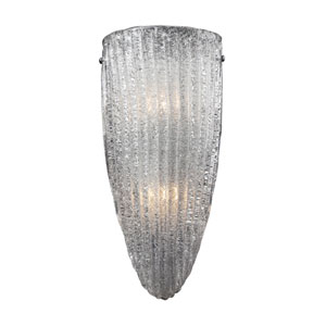 Luminese Two-Light Wall Sconce In Satin Nickel