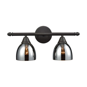 Reflections Oil Rubbed Bronze Two-Light Vanity