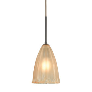 Calipsa Oil Rubbed Bronze 6-Inch One-Light Mini Pendant
