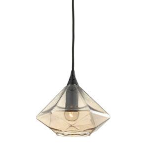 Geometrics Oil Rubbed Bronze One-Light Pendant