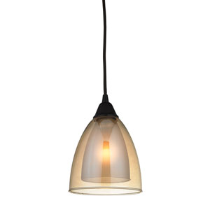 Layers Oil Rubbed Bronze One-Light Mini Pendant