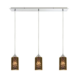 Illusions Polished Chrome 36-Inch Three-Light Pendant