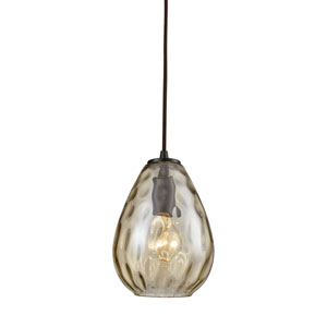 Lagoon Oil Rubbed Bronze One-Light Mini Pendant
