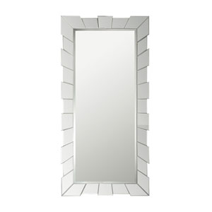 Glass Cog 66 x 33-Inch Rectangle Mirror
