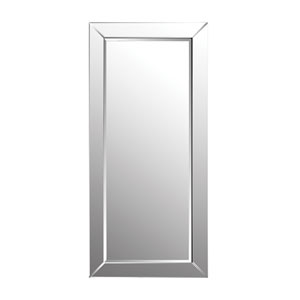 Glass Framed 78 x 35-Inch Rectangle Floor Mirror