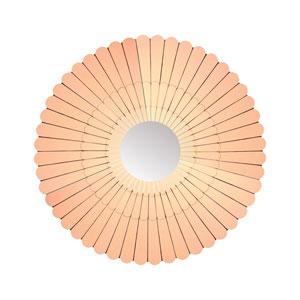 Illyria Copper Mirror 43-Inch Round Mirror