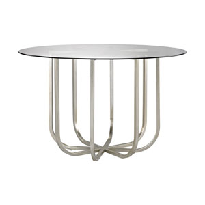 Nest Champagne Gold Entry Table