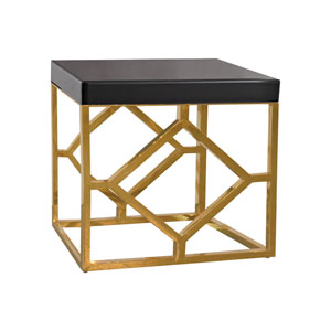 Beacon Towers Gold Accent Table