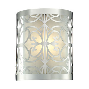 Willow Bend One Light Bath Fixture In Polished Chrome