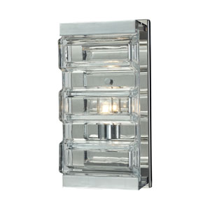 Polished Chrome One-Light Vanity
