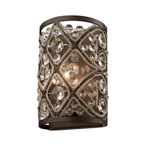 Amherst Antique Bronze One-Light Vanity