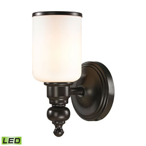 Bristol Oil Rubbed Bronze LED One Light Bath Fixture