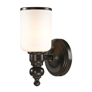 Bristol Oil Rubbed Bronze One Light Bath Fixture