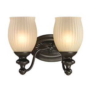 Park Ridge Oil Rubbed Bronze Two Light Bath Fixture