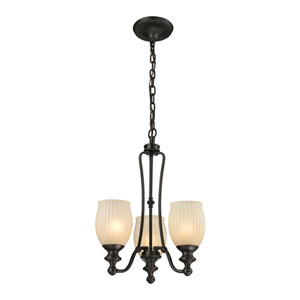 Park Ridge Oil Rubbed Bronze Three-Light Chandelier