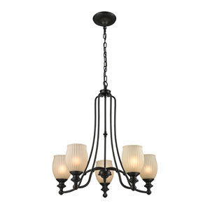 Park Ridge Oil Rubbed Bronze Five-Light Chandelier