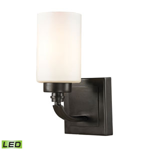 Dawson Oil Rubbed Bronze LED One Light Bath Fixture