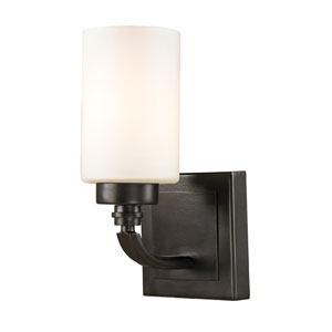 Dawson Oil Rubbed Bronze One Light Bath Fixture