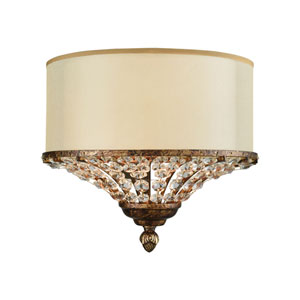 Crystal Spring Spanish Bronze Two-Light Wall Sconce