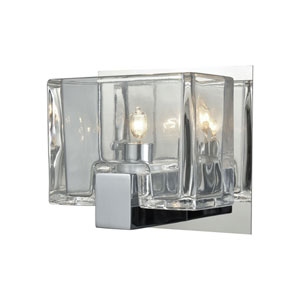 Ridgecrest Polished Chrome One-Light Vanity