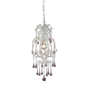 Opulence Antique White Mini Pendant