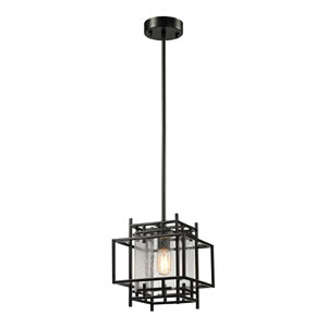 Intersections Oil Rubbed Bronze One Light Pendant