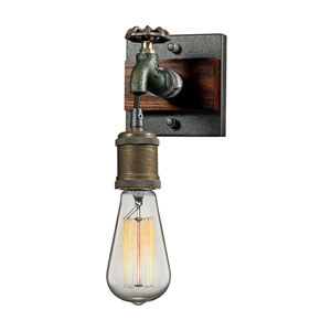 Jonas Multicolor Weathered One-Light Wall Sconce