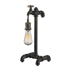 Jonas Multicolor Weathered One-Light Table Lamp