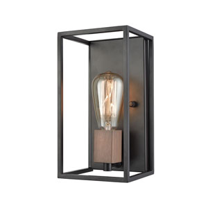 Rigby Oil Rubbed Bronze and Tarnished Brass One-Light Wall Sconce