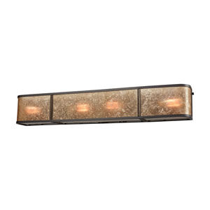 Barringer Oil Rubbed Bronze Four-Light Vanity