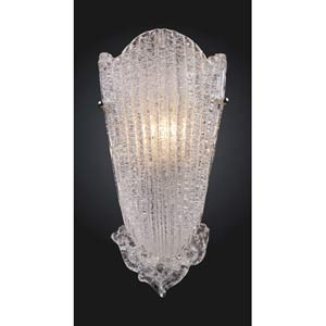 Providence Antique Silver Leaf Wall Sconce