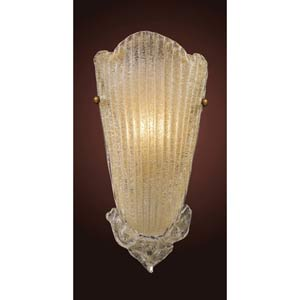 Providence Antique Gold Leaf One-Light Wall Sconce