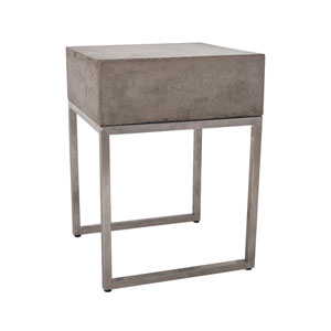 Bulwark Waxed Concrete Side Table