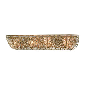 Elizabethan Dark Bronze 27-Inch Four-Light Vanity
