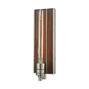 Brookweiler Polished Nickel One-Light Wall Sconce