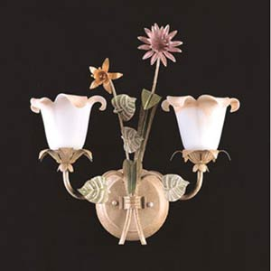 Spring Garden Two Light Wall Sconce